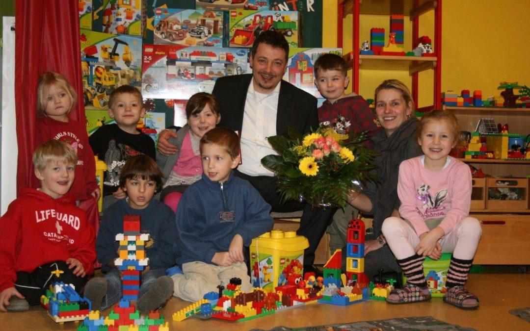 """Die """"Vereinigte"""" unterstützt die Kindertagesstätte Pfiffikus"""